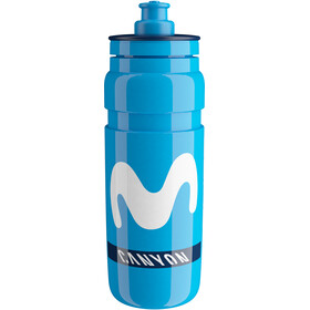 Elite Fly Team Borraccia 750ml, Team Movistar